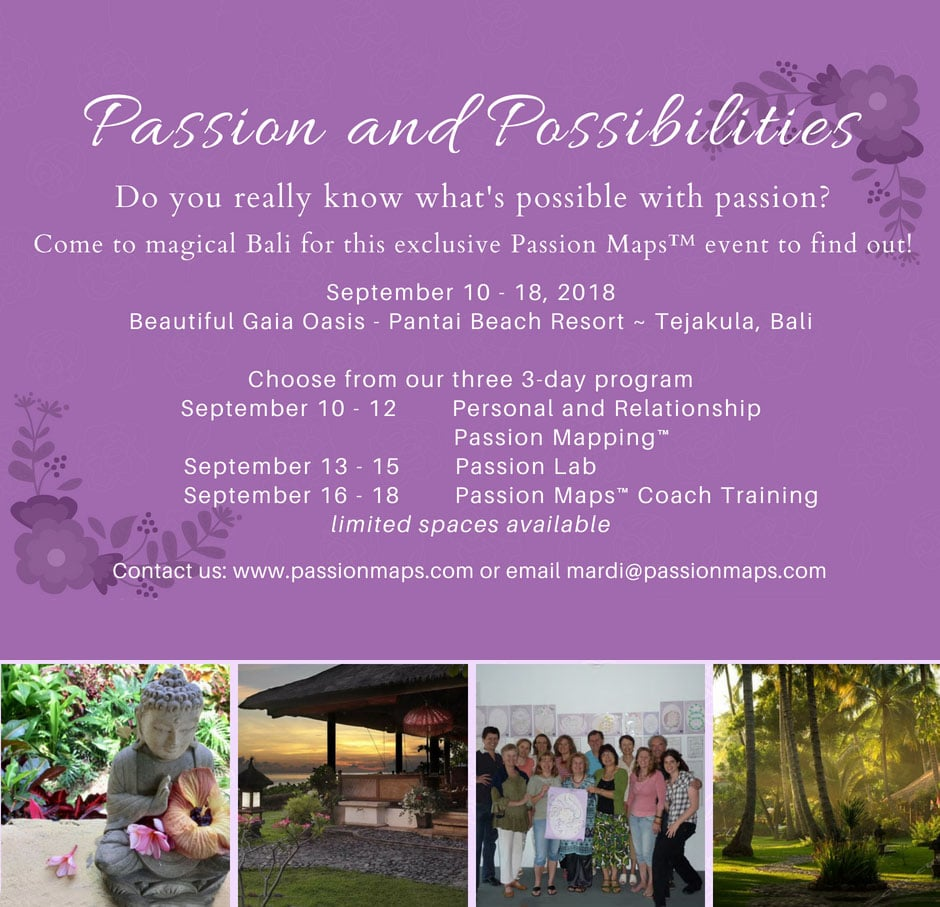 Event Passion and Possibilities